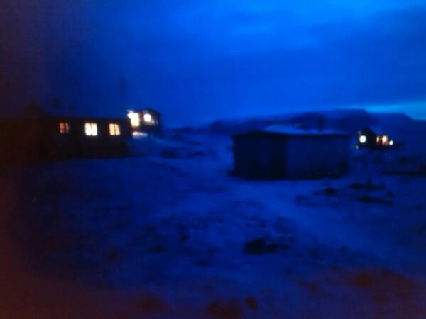 Qeqertat - a near ghost-town 63km from Qaanaaq