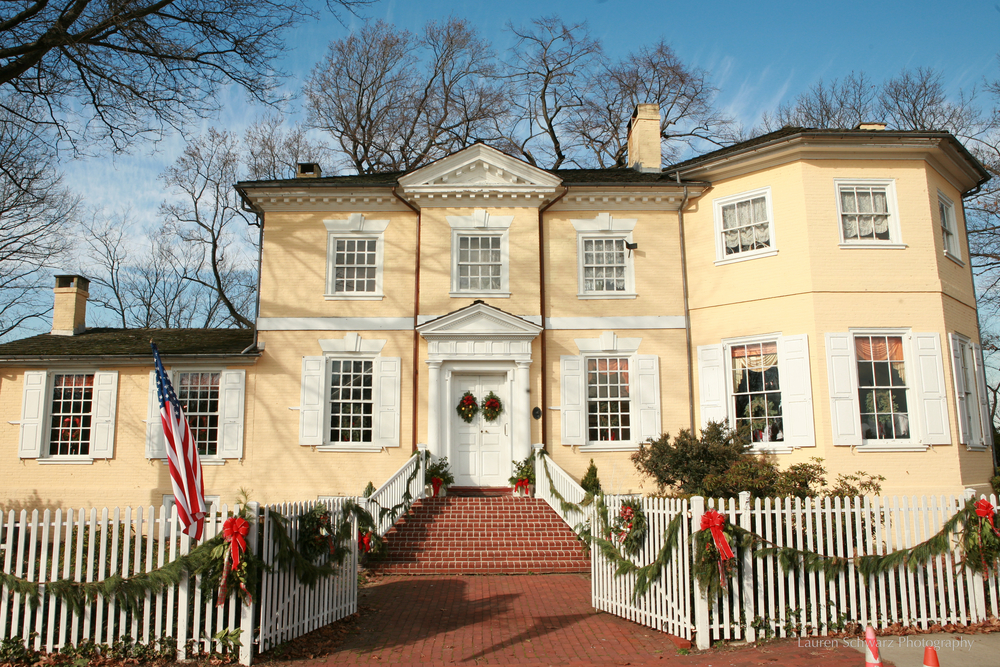 Exterior of Laurel Hill