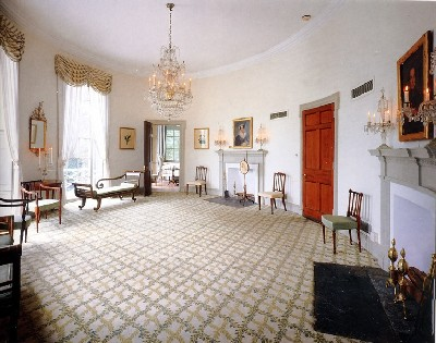 Oval Room at Lemon Hill