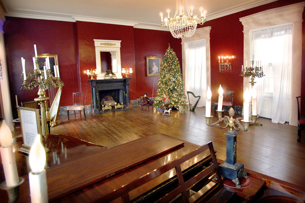 Strawberry Mansion, during the Annual Holiday Open House Tours