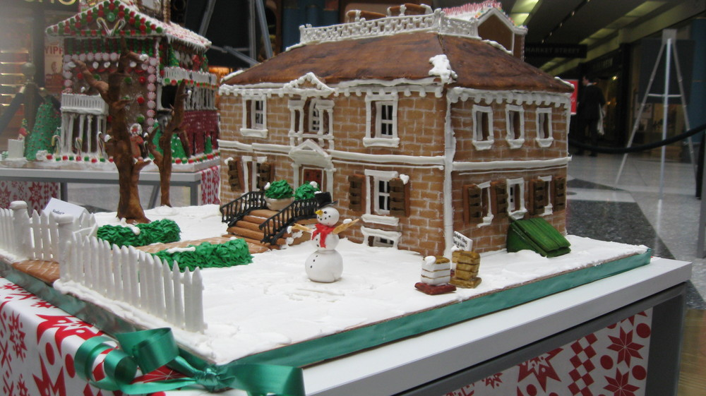 Woodford in gingerbread