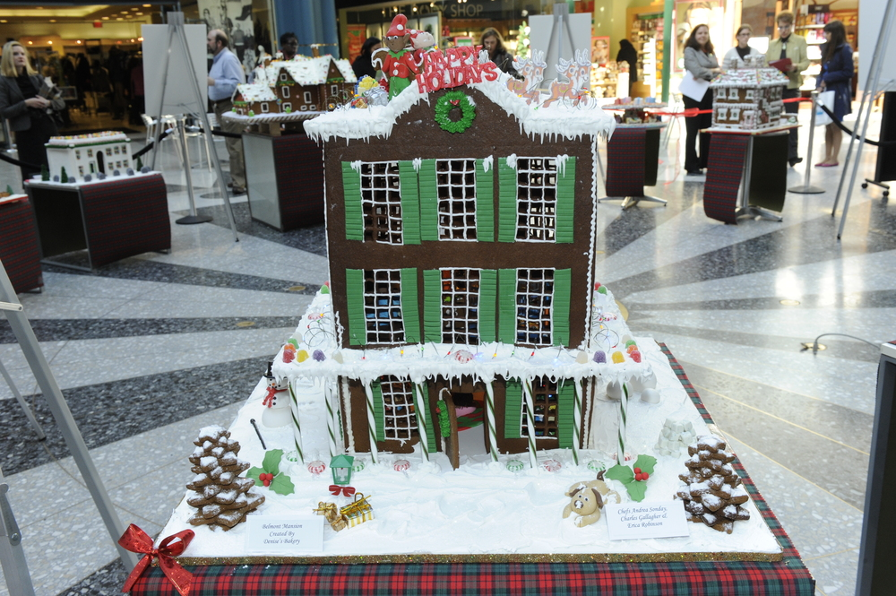 Belmont Mansion created by Denise's Bakery
