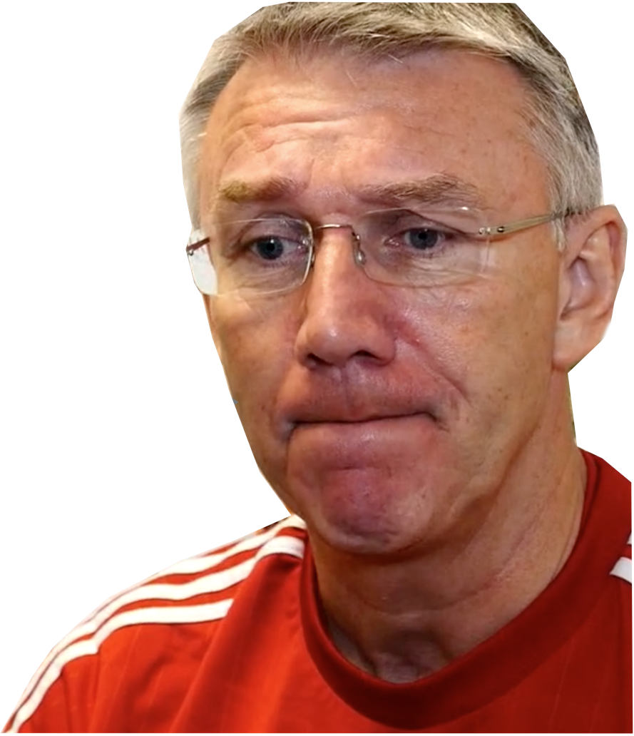 HAVING A WORD: MANAGER NIGEL ADKINS
