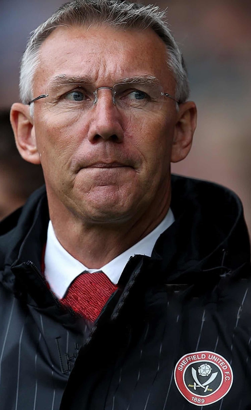 facing the truth:  BLADES BOSS NIGEL ADKINS