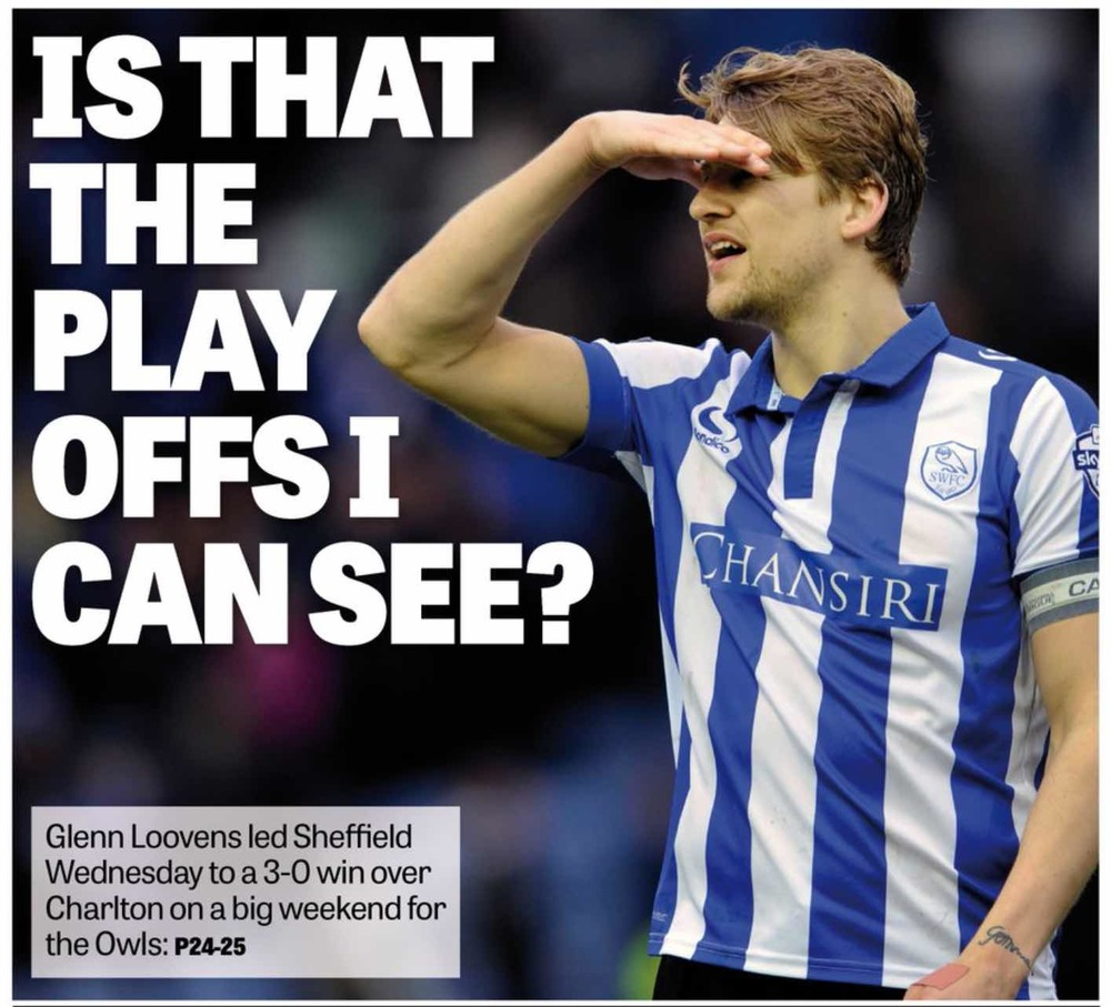 CLOSING IN: GLENN LOOVENS LOOKS FOR THE MISSING HYPHEN IN MONDAY'S STAR.