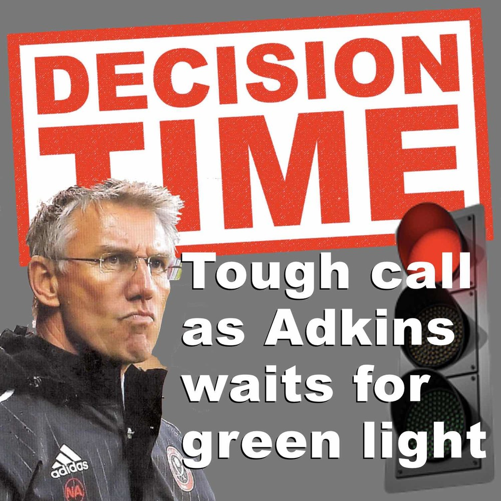 Decision time for Nigel Adkins
