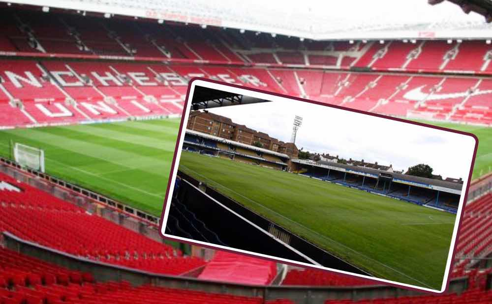 TOUGH ONE:  Old Trafford or Roots Hall?