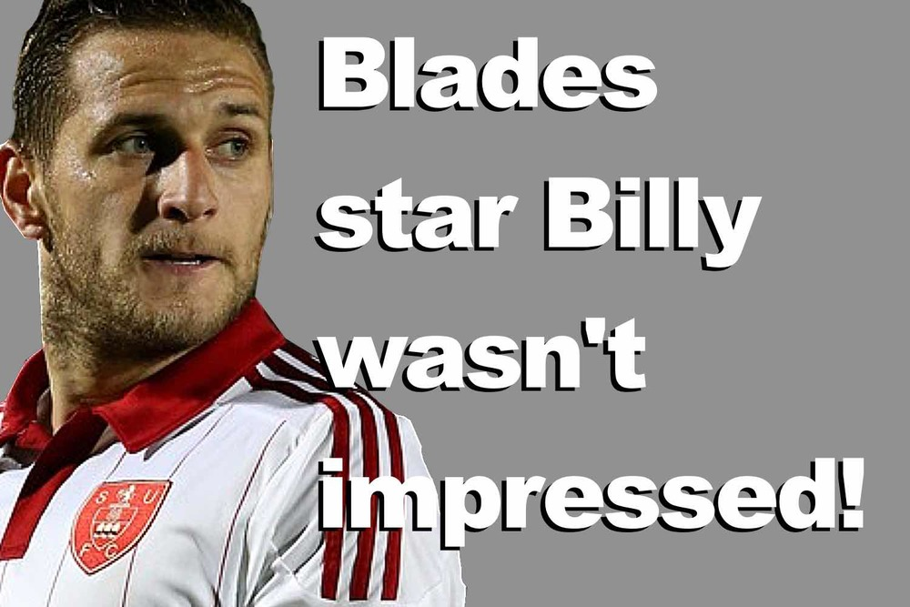 Billy Sharp Sheffield United