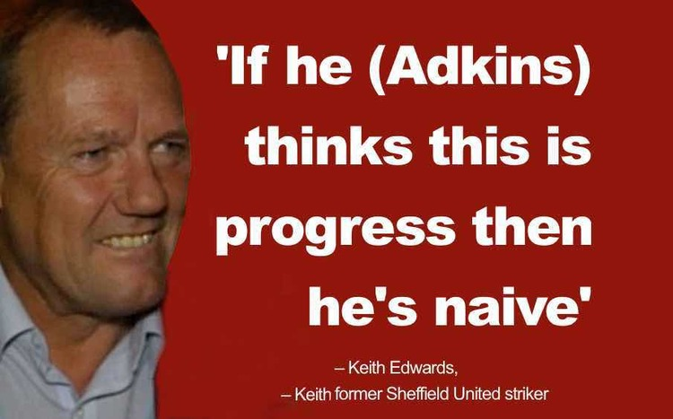 Keith Edwards former Sheffield United striker