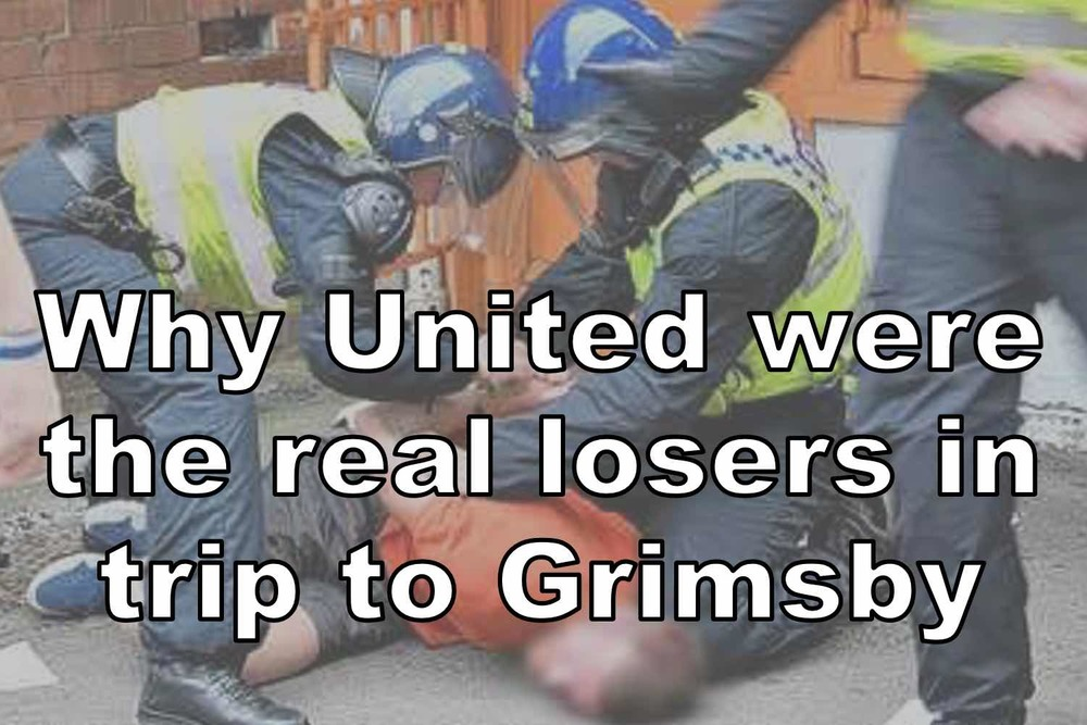 Police make arrests at Grimsby v Sheffield United