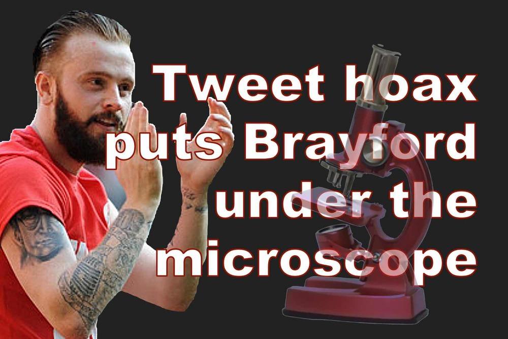 Sheffield United's John Brayford victim of tweet hoax