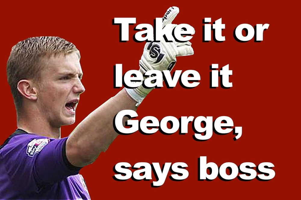 Sheffield United goalkeeper George Long told to take it or leave it