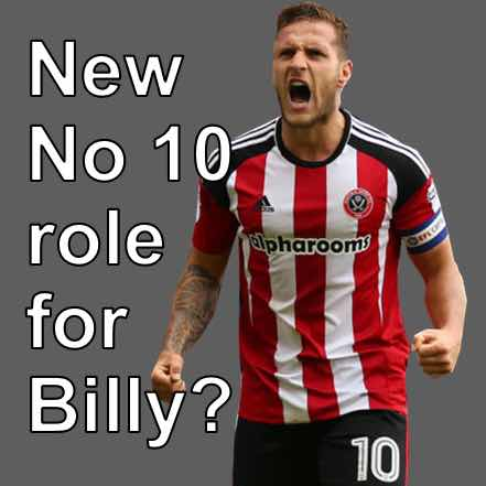 Is Sheffield United striker Billy Sharp set for s new No10 role at Bramall Lane