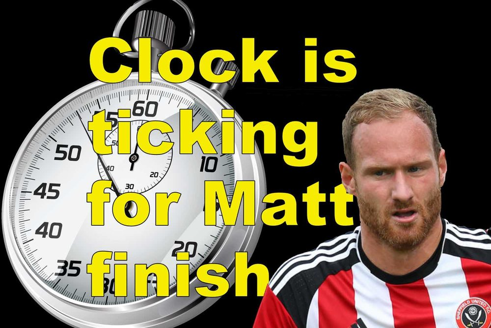 Clock is ticking for Sheffield United striker Matt Done