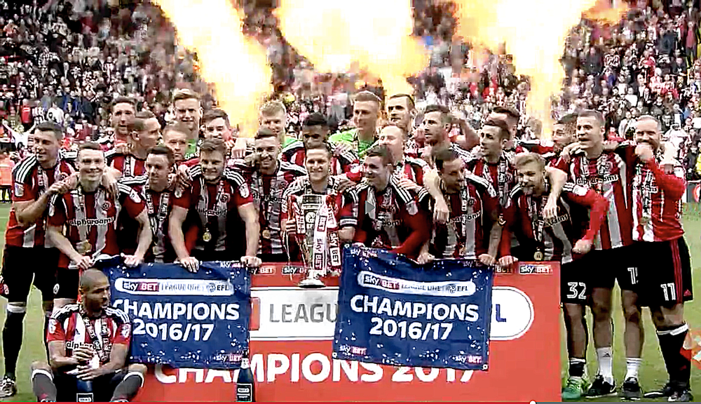 Job done for League One Champions Sheffield United