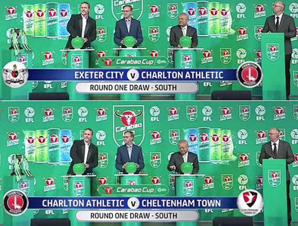 IF AT FIRST YOU DON'T SUCCEED:  CHARLTON ATHLETIC APPEAR TO HAVE TWO BITES OF THE CHERRY