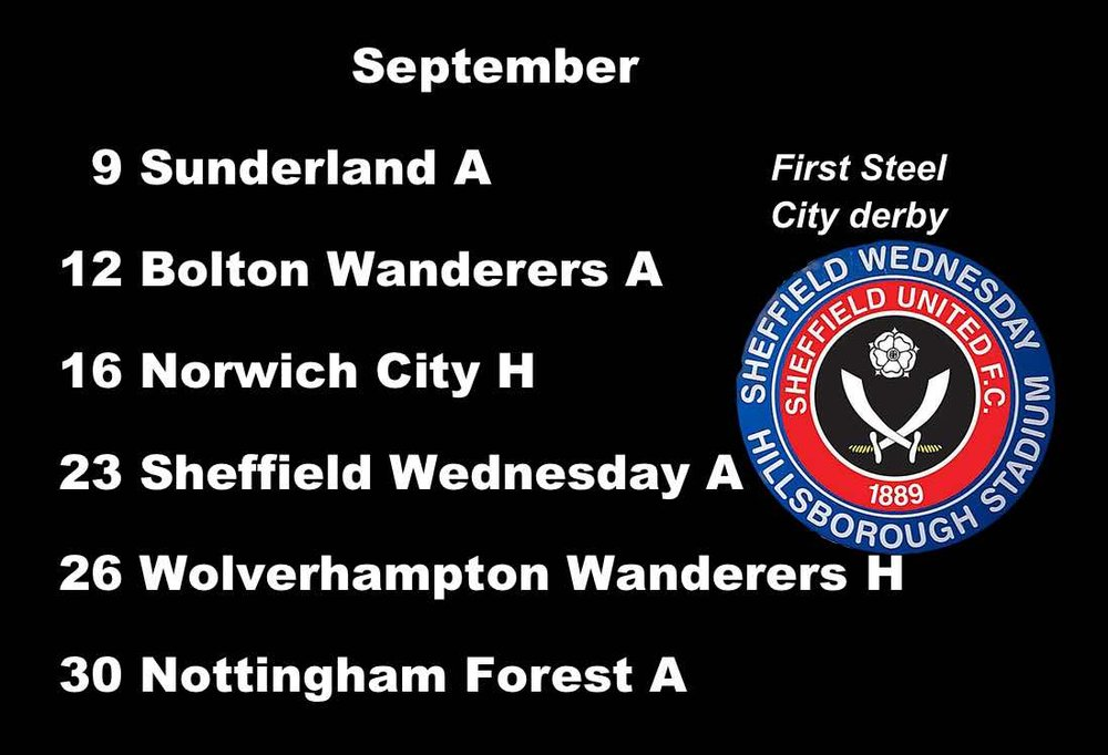 Sheffield United fixtures: Long-awaited Steel City derby at Hillsborough