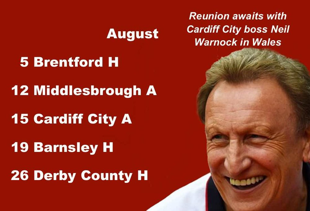 "Sheffield United fixtures: Cardiff boss and Blades fan Neil Warnock awaits his old team""s visit to Wales"