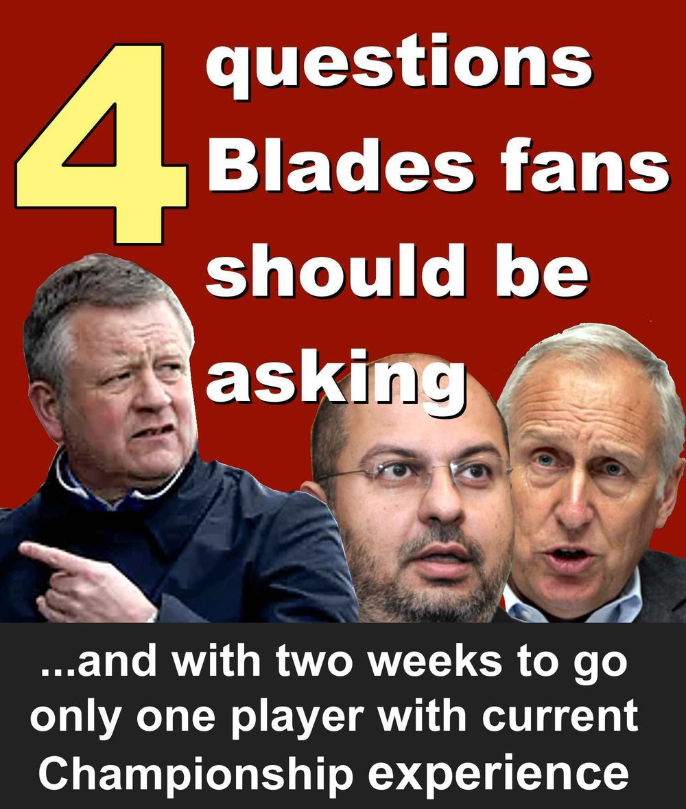 Four questions Sheffield United fans should be asking as Blades prepare for Championship return