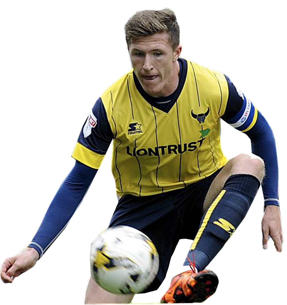 LATEST ARRIVAL:  JOHN LUNDSTRAM fROM LEAGUE ONE OXFORD UNITED