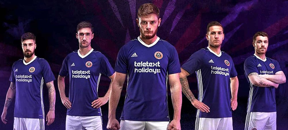 PURPLE REIGN:  PLAYERS MODEL UNITED'S NEW AWAY KIT FIRST SEEN IN THE LATEST PRE-SEASON WIN AT ROTHERHAM AND THEY DON'T LOOK TOO HAPPY ABOUT IT!