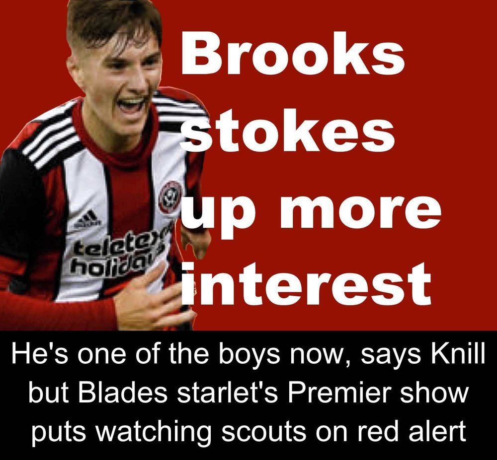 Sheffield United's David Brooks steals the show to stoke interest in watching Premier League scouts
