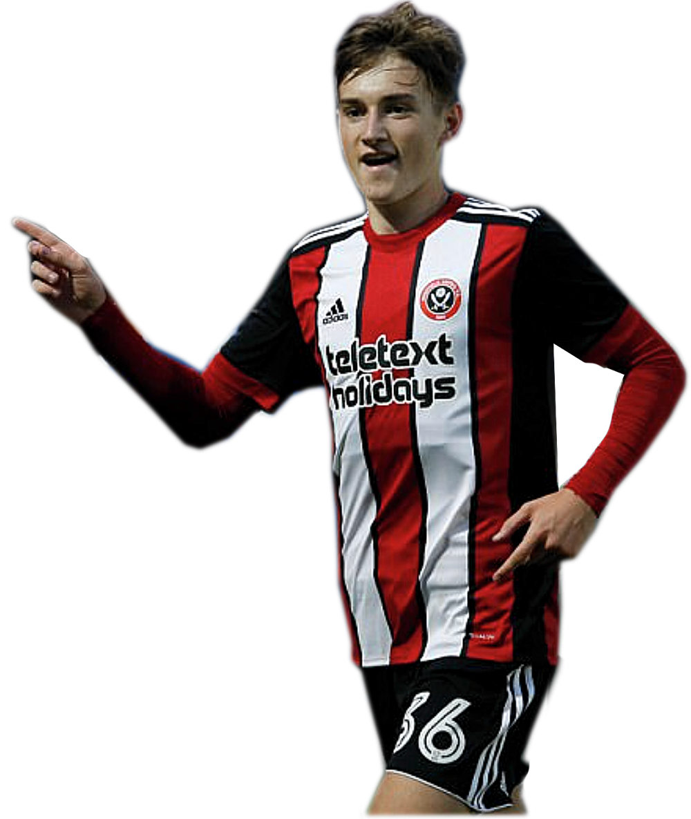 IMPRESSIVE - Young England star David Brooks is pressing his claim to make Sheffield United's starting line-up