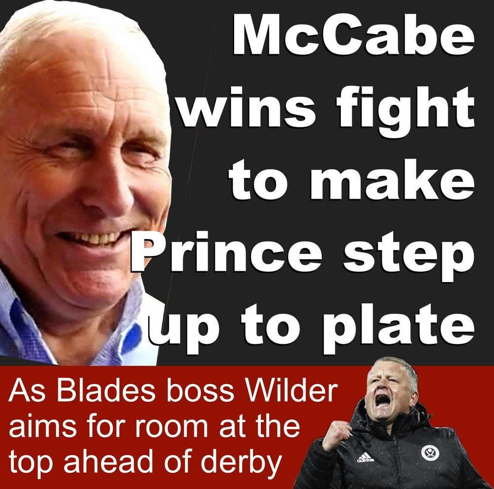 Sheffield United co-owner Kevin McCabe wins struggle to make Saudi partner deliver on financial promise