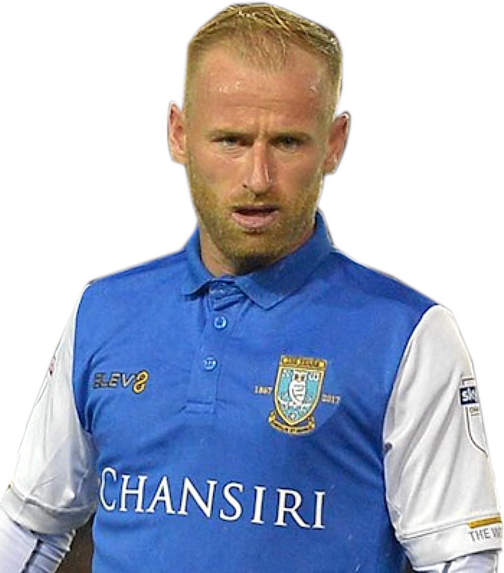 DANGER MAN - Sheffield Wednesday's Barry Bannon has a controlling influence from deep in midfield.