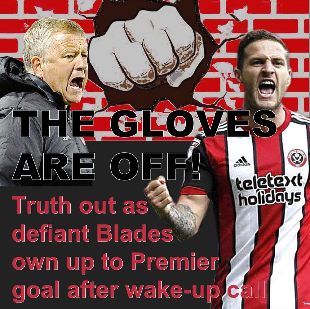 Gloves are off as third-placed Sheffield United, smarting from turbulent Championship week, issue Premier League statement of intent at Bramall Lane