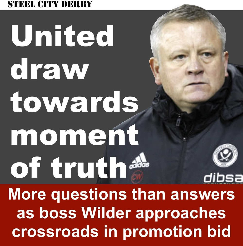 Sheffield United draw towards moment of truth as they reach crossroads in Bramall Lane promotion bid