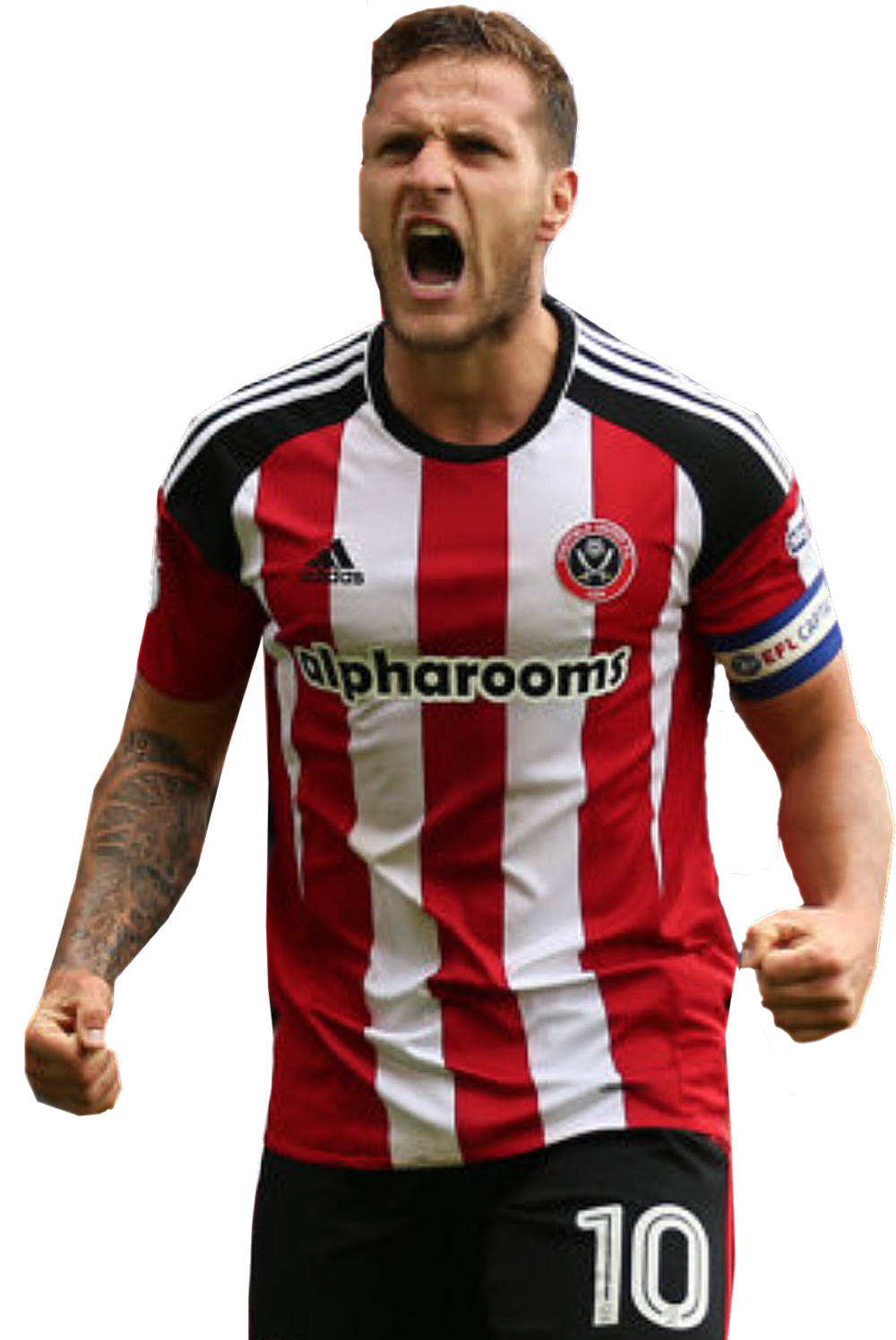 CAPTAIN FANTASTIC:  BILLY SHARP HAS NOW SCORED 201 CAREER LEAGUE GOALS.