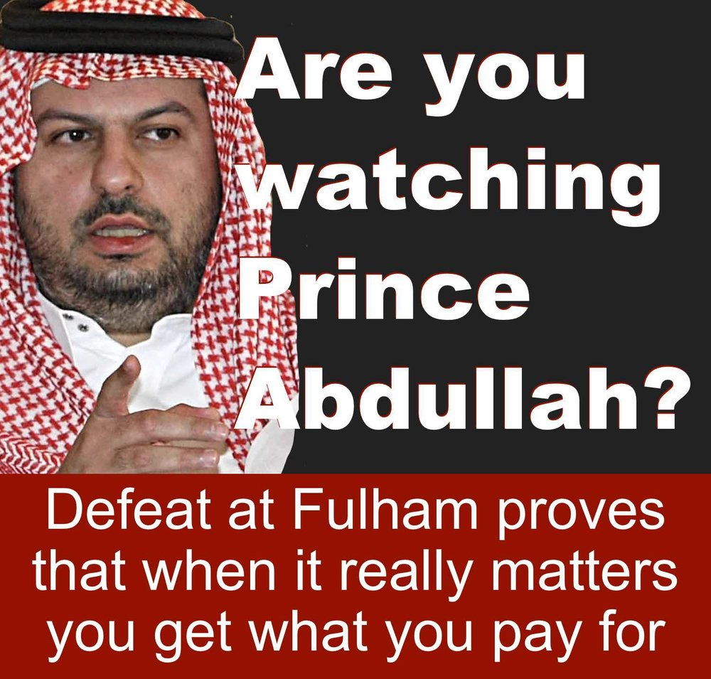 Sheffield United co-owner Prince Abdullah's continued lack of proper investment is costing ambitious Blades dear at Bramall Lane