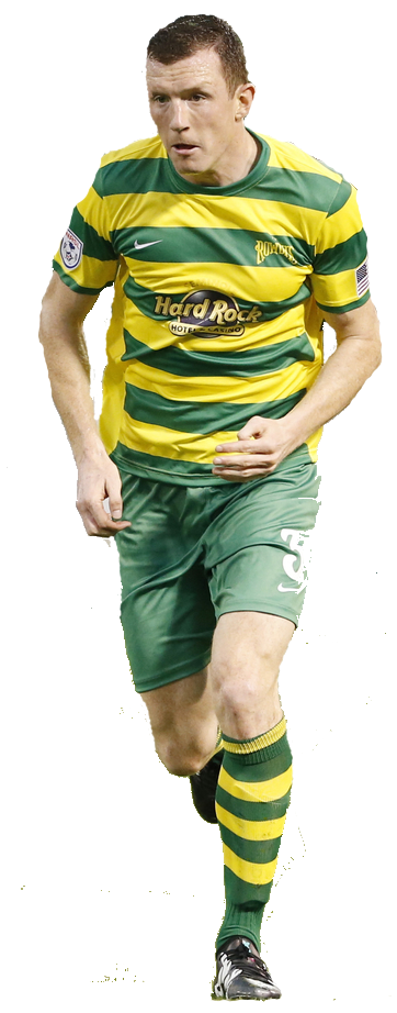 TOP MAN:  NEILL COLLINS, ENJOYING A NEW LEASE OF LIFE at tampa bay rowdies.