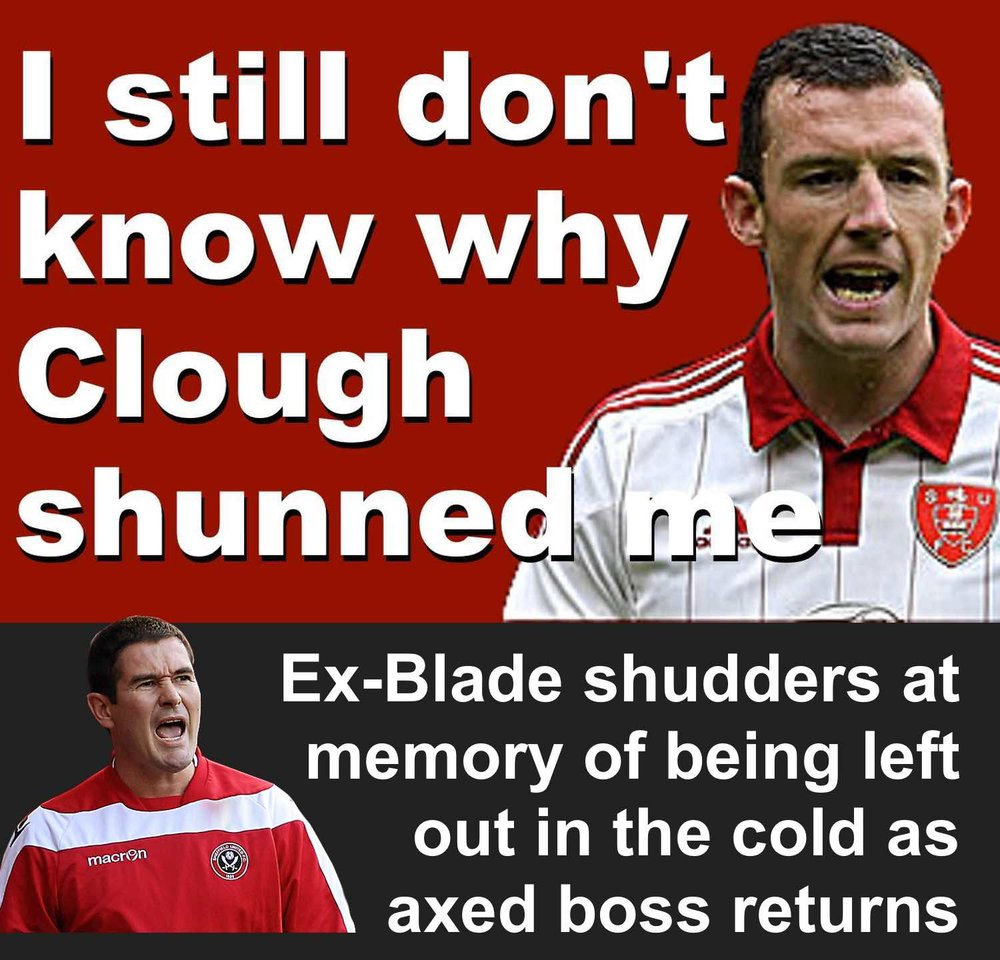 Foprmer Sheffield United defender Neill Collins still don't know why ex-Blades boss Nigel Clough tired to end his career at Bramall Lane..