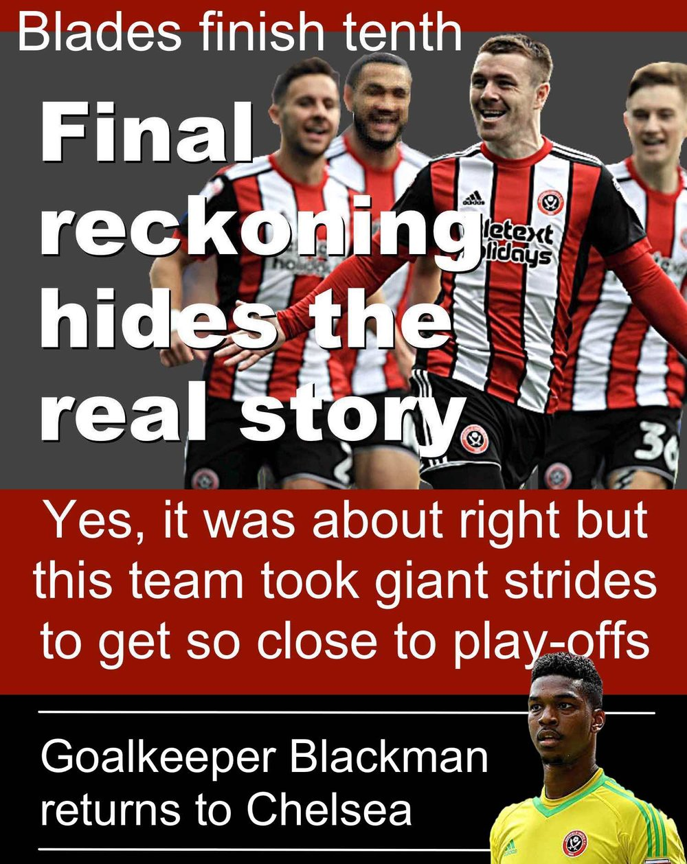Sheffield United's final championship reckoning doesn't tell the whole story for brave Blades