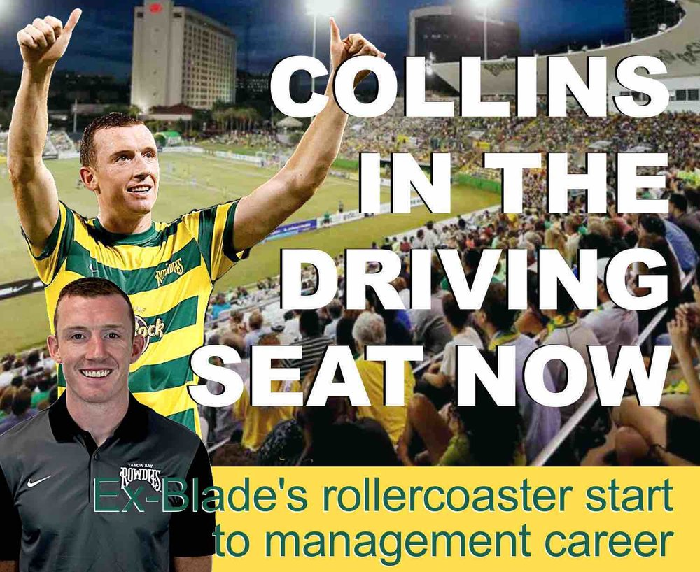 Former Sheffield United star Neill Collins' rollercoaster start to managerial career with Tampa Bay Rowdies