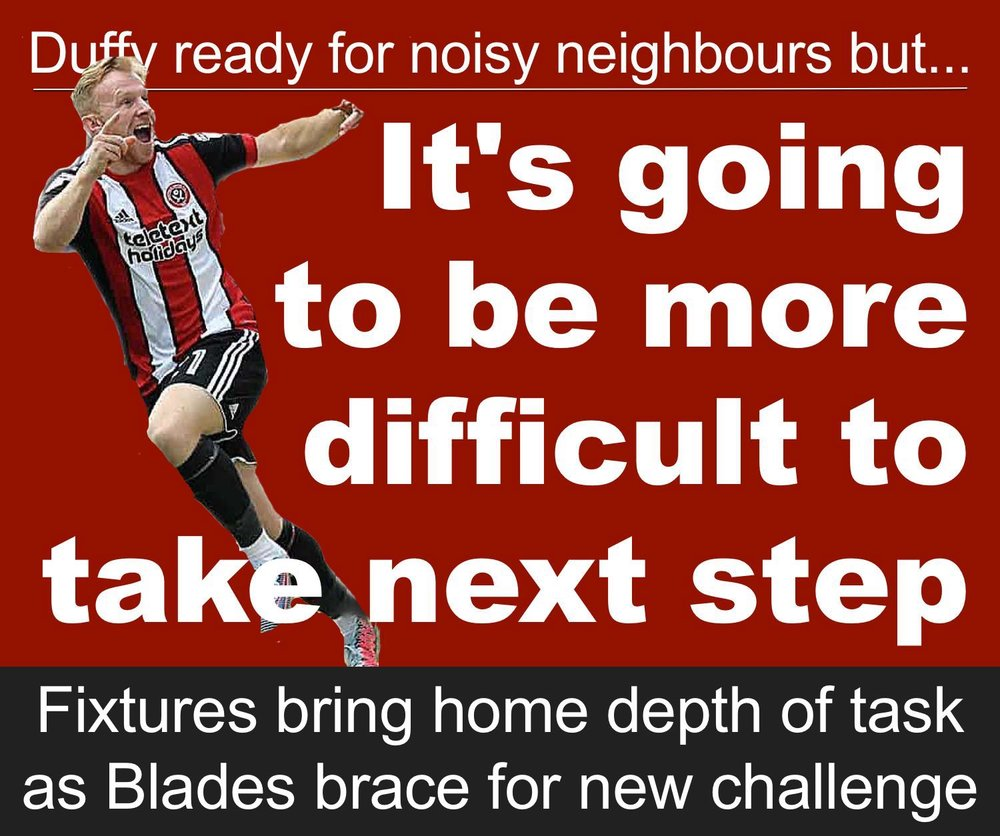 Championship fixture release brings home challenge if Sheffield United are to take next step at Bramall Lane