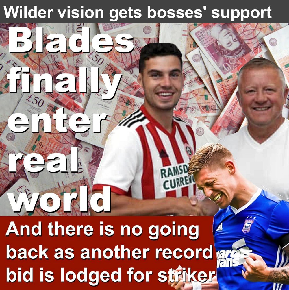 Sheffield United step into real world after club record £4million-plus signing of defender John Egan as Bramall Lane bosses back manager Chris Wilder.