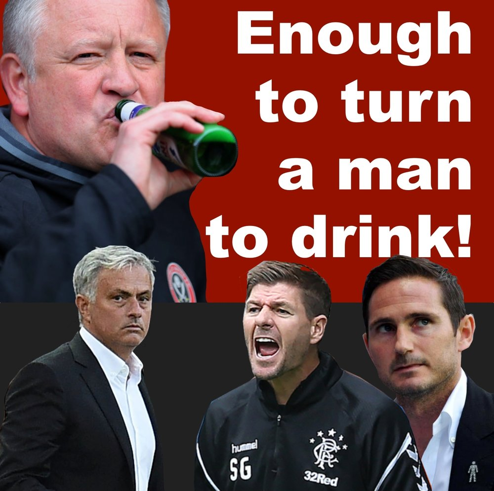 It's enough to turn Sheffield United manager Chris Wilder to drink