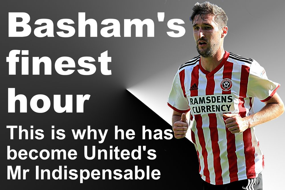 Chris Basham has become Sheffield United's Mr Indispensable at Bramall Lane