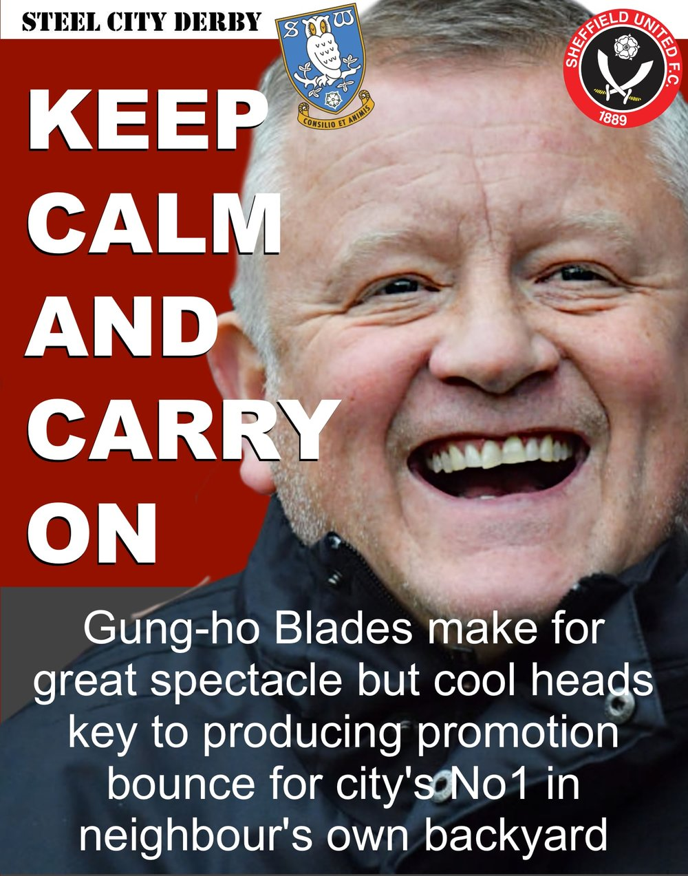 Steel City Derby: Sheffield United need to keep cool heads to press home superiority and keep automatic promotion bid on track