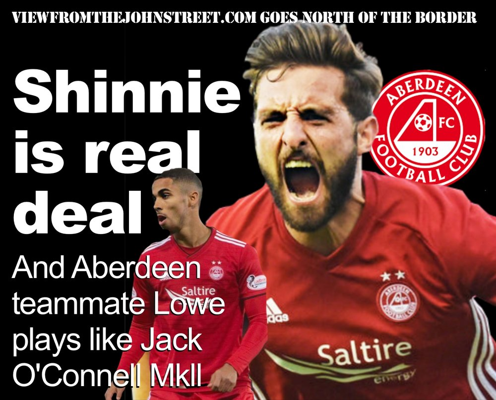 Aberdeen's highly rated captain Graeme Shinnie reportedly would like a summer move to Sheffield United