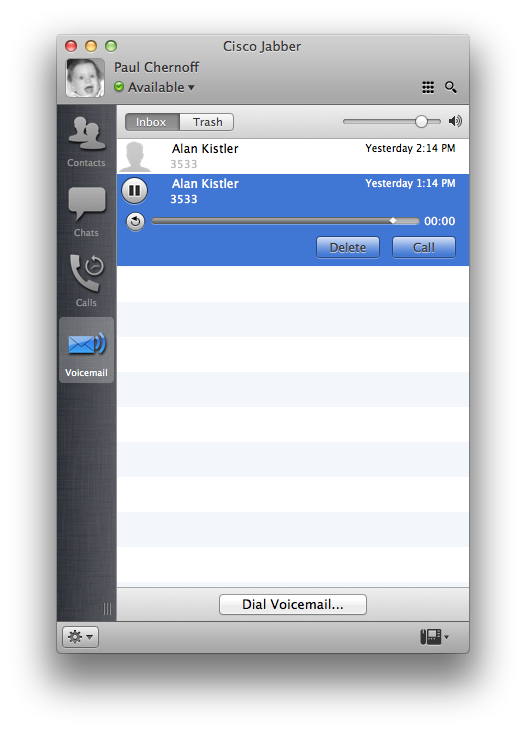 how to delete my old voicemail message and record new