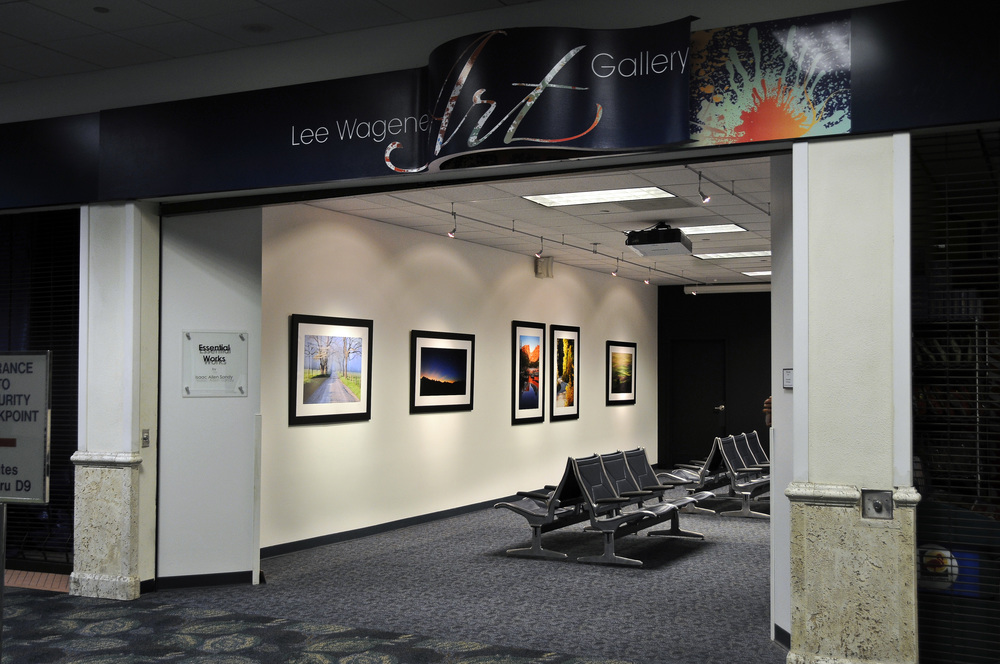 """Essential Works"" Solo Exhibition at The Lee Wagener Art Gallery, Terminal 2/Pre-Security (Delta concourse) at the Fort Lauderdale/Hollywood International Airport - January 12 through April 5, 2012"