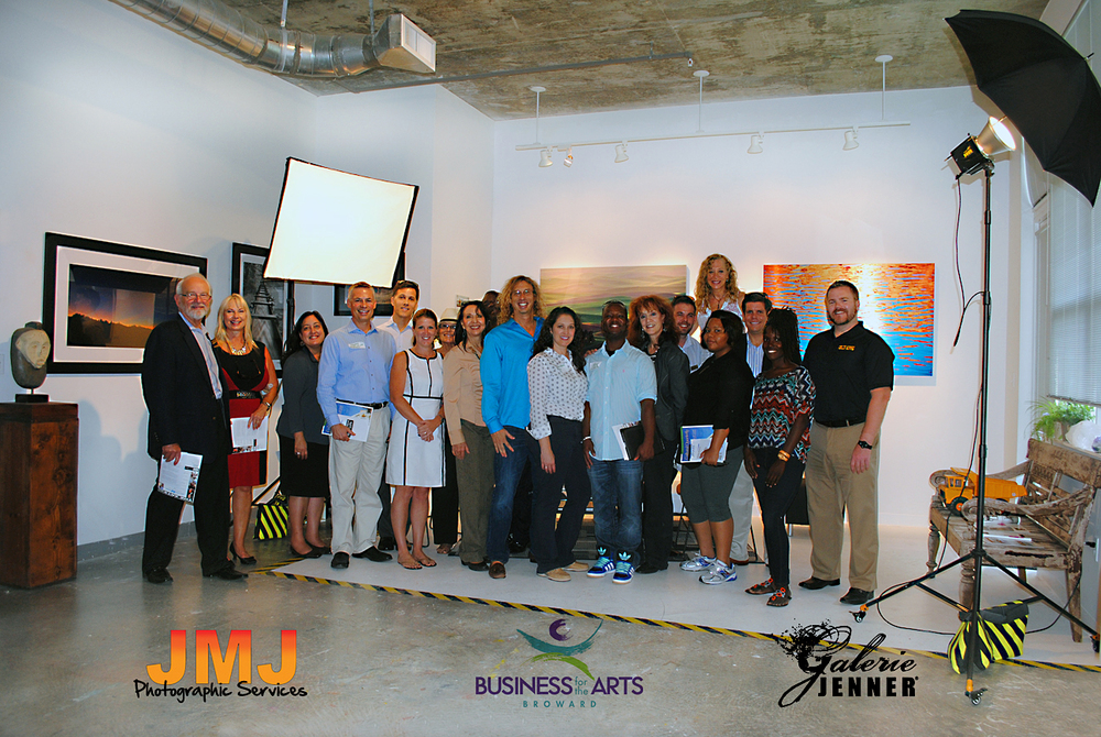 Business For The Arts Broward Cultural tour.