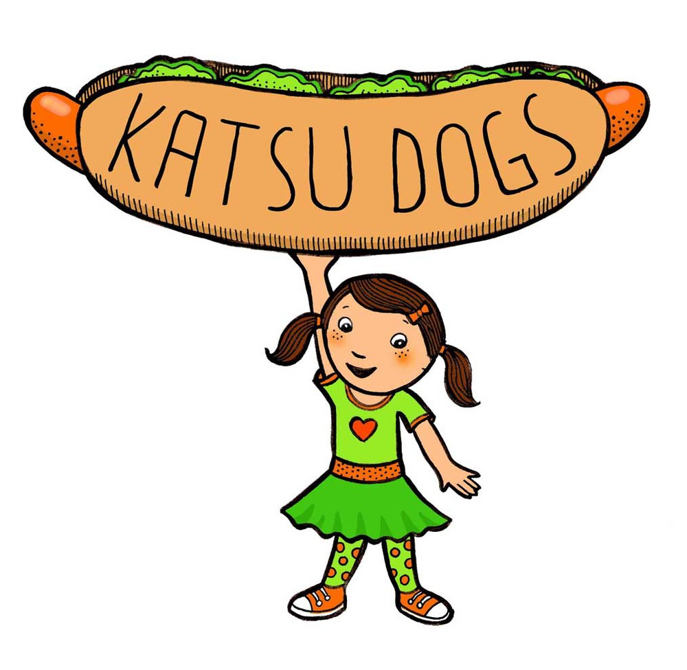 Logo design for Katsu Dogs