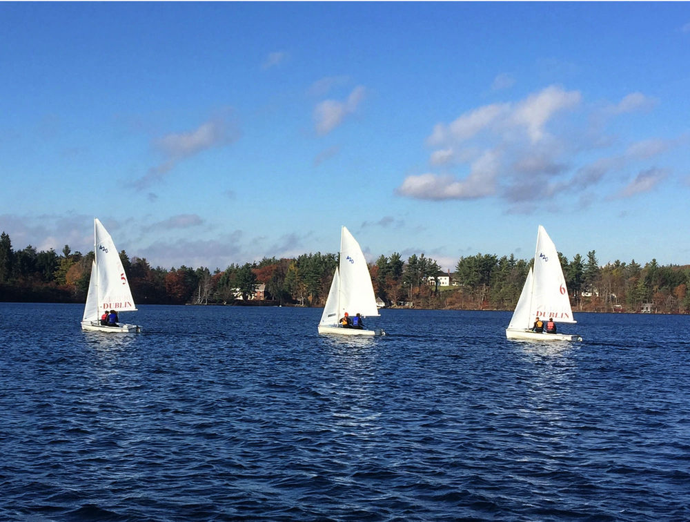 New drivers racing with experienced crews: Faith & Aidan (boat 5), Maxwell & Silas (boat 8), Deven & Henry L (boat 6).