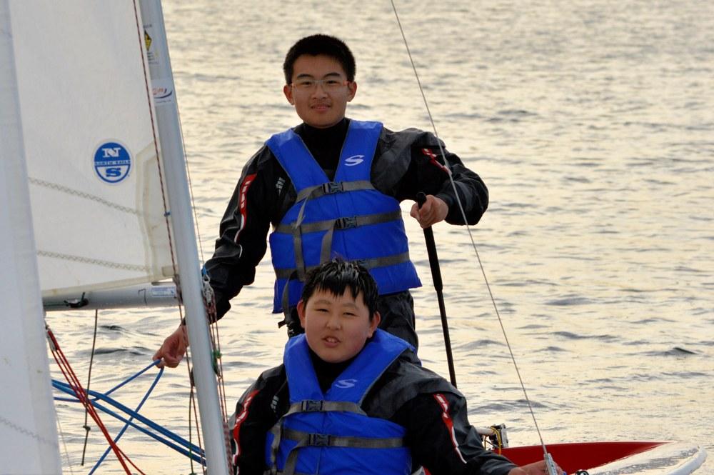 Yifu and Jacky.