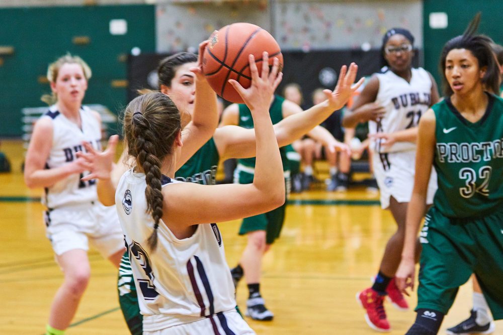 Girls Varsity Basketball vs. Proctor Academy  - January 20, 2015 - 3297- Jan 20 2016.jpg